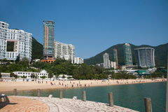 Famous scenic Repulse Bay Beach Stock Image