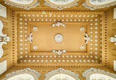Famous Schonbrunn Palace in Vienna, Austria.  Stock Photo