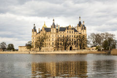Famous schwerin castle , Germany Stock Images