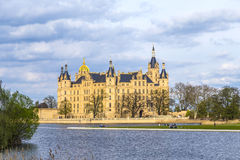 Famous schwerin castle , Germany Royalty Free Stock Images