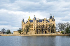 Famous schwerin castle , Germany Stock Photography