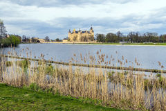 Famous schwerin castle , Germany Royalty Free Stock Photo