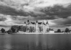 Famous schwerin castle , Germany royalty free stock image