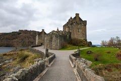 Famous Scottish castle Stock Photos