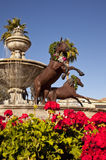 Famous Scottsdale Fountain Stock Photos