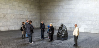 Famous sculpture from artist Kaethe Kollwitz in the Berliner Wac Stock Image