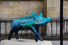 Famous sculpture of big in Bath Stock Images
