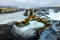 Famous Selfoss waterfall. Jokulsargljufur National Park, Iceland Stock Image