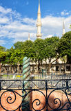 The famous Serpent Column in the ancient Hippodrome in Istanbul, Royalty Free Stock Images