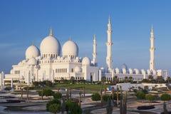 Famous Sheikh Zayed Grand Mosque, Abu Dhabi Stock Photos