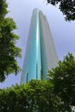 The famous shenzhen city diwang tower Stock Image