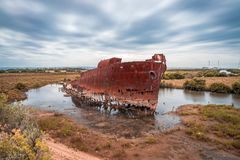Excelsior Shipwreck site near Adelaide, South Australia royalty free stock image