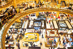 Famous shopping Mall, Paris Royalty Free Stock Images