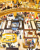 Famous shopping Mall, Paris Royalty Free Stock Photography