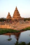 Famous shore temple Mahabalipuram, Tamil Nadu, India Stock Photos