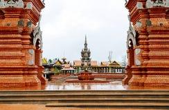 Xishuangbanna Daikin Tower. The famous Shwedagon Pagoda in Xishuangbanna, Yunnan, China Royalty Free Stock Image