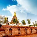 Xishuangbanna Daikin Tower. The famous Shwedagon Pagoda in Xishuangbanna, Yunnan, China Stock Photography