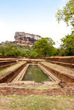 Famous sigiriya rock Stock Photos