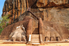 Famous Sigiriya rock. Sri Lanka Royalty Free Stock Images