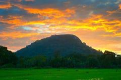 Famous Sigiriya rock. Sri Lanka Stock Photography