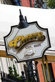 Famous sign for Cheers, Boston, MA. Royalty Free Stock Photos