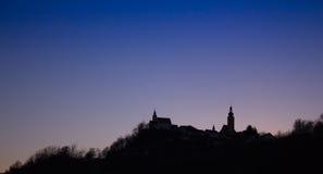 The famous silhouette. Of Straden, Austria Stock Photo