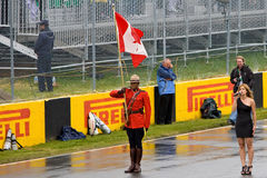 Famous Singer IMA at Montreal Grand prix Stock Photo