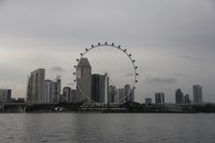 Sky wheel stock photography