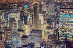 Famous skyscrapers of New York Stock Photography