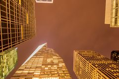 Famous skyscrapers of New York Royalty Free Stock Image