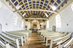 Famous small village church Stock Photos