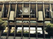 Estadio Santiago Bernabeu royalty free stock images