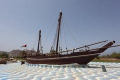 Famous Sohar boat, Muscat Stock Photo