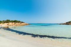 Famous Spiaggia del Principe. In Costa Smeralda, Sardinia royalty free stock photography
