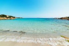 Spiaggia del Principe foreshore. Famous Spiaggia del Principe in Costa Smeralda, Sardinia Stock Photos