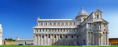 Famous Square of Miracles in Pisa, Italy Royalty Free Stock Photos