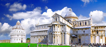 Famous Square of Miracles in Pisa, Italy Royalty Free Stock Photo