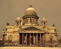 The famous St. Isaac cathedral Stock Images