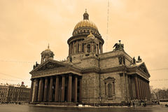 The famous St. Isaac cathedral Royalty Free Stock Image