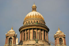 The famous St. Isaac cathedral Stock Photo