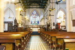 Famous St. Johns Cathedral in Hong Royalty Free Stock Photo