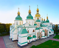 Famous St. Sophia Cathedral. Ukraine Stock Photo