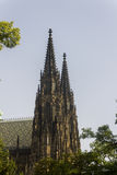 Famous St. Vitus Cathedral Stock Photography