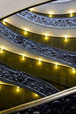 Famous staircase, Vatican Museum Royalty Free Stock Photography