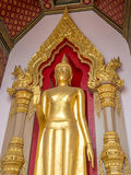 Famous standing buddha statue in Thailand Royalty Free Stock Photo