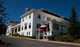 Famous Stanley Hotel in Estes Park, Colorado Royalty Free Stock Images