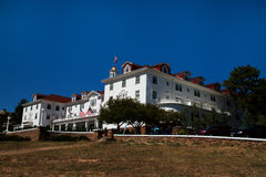 Famous Stanley Hotel in Estes Park, Colorado Stock Images