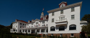 Famous Stanley Hotel in Estes Park, Colorado Royalty Free Stock Image