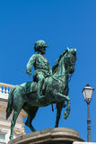 Famous statue of archduke Albrecht Stock Photos