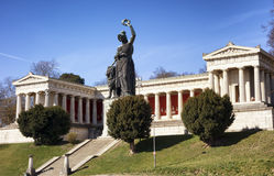 Famous statue of bavaria Stock Image